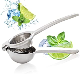 Jeanzer Manual Lemon Squeezer/Lime Juicer/Citrus Press - Quality 304 Stainless Steel