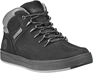 Timberland A1Uzk Mens Nubuck Leather Ankle Boots in Black