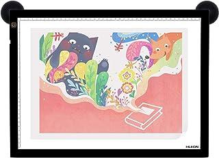 Huion A3 - Caja De Luz, 45 x 36 cm,Con Papel De Calco y Papel De Bola, Blanco y Negro