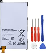 E-yiiviil Xperia Z1 Mini Rechargeable Li-Polymer Battery Compatible with LIS1529ERPC Amami D5503 Xperia Z1 Compact M51w