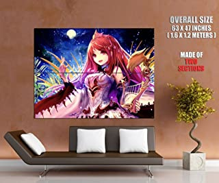 ZV6467 Shingeki no Bahamut Rage of Bahamut Genesis Anime Manga Art HUGE GIANT Wall Print POSTER