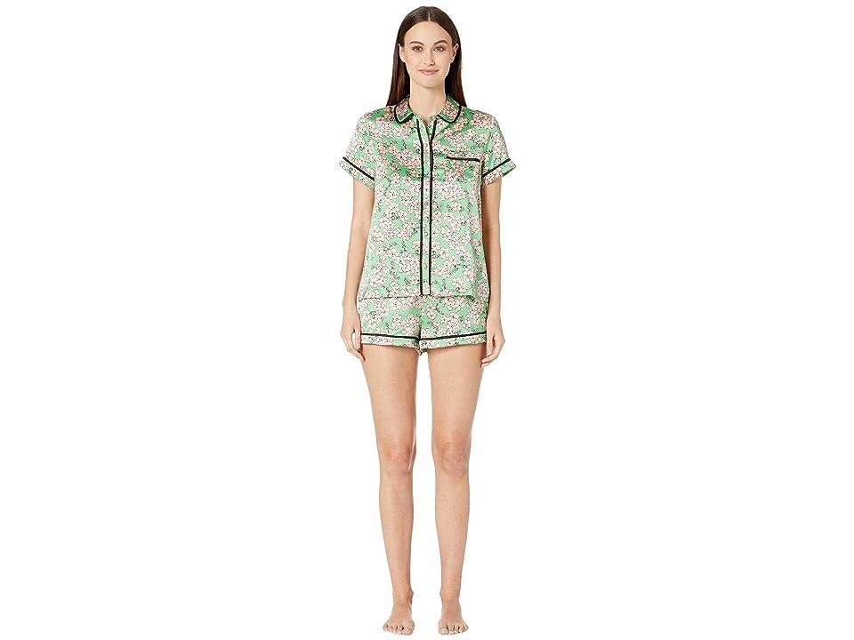 Kate Spade New York Charmeuse Short Pajama Set (Fresh Flora) Women