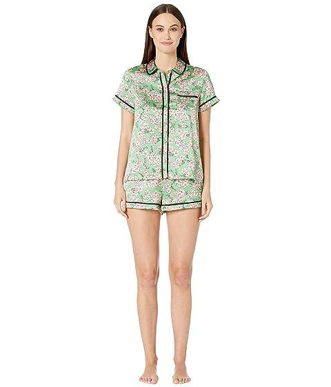 Kate Spade New York Charmeuse Short Pajama Set