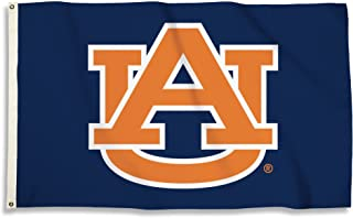 BSI NCAA College Auburn Tigers 3 X 5 Foot Flag with Grommets