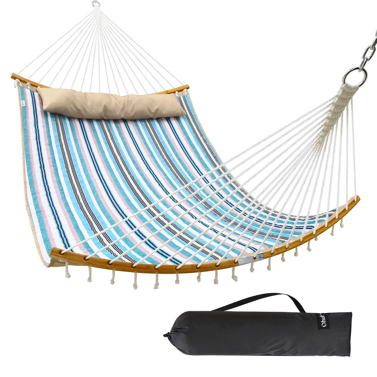 Ohuhu Hammock Detachable Curved Bar Carrying