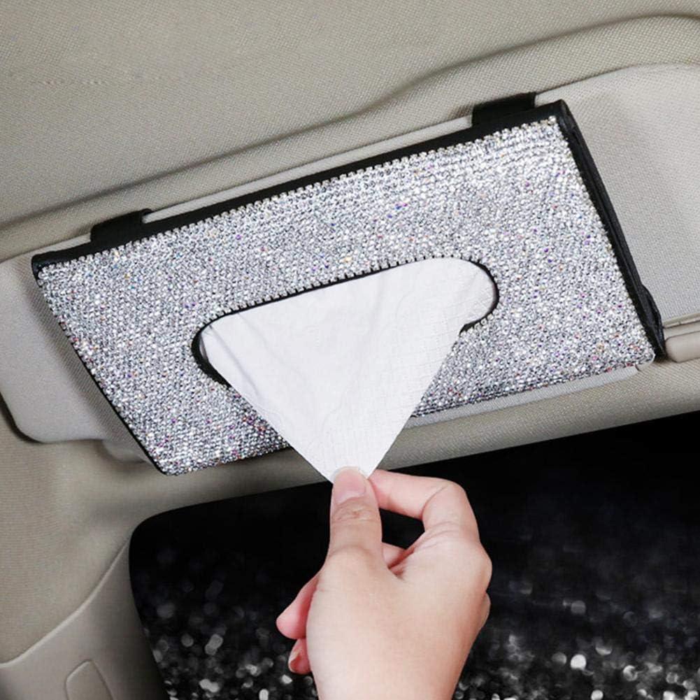 Prom Note Auto Taschentuchbox Halter Kosmetiktücherbox Auto Visier Gewebeklammer Taschentuchbox Taschentuchspender Pumping Tissue Box Für Auto Waschtische Schlafzimmer Auto