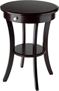 Winsome Wood 40627 Sasha Accent Table, Cappuccino