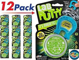 JaRu Magnetic Putty (Pack of 12) by JA-RU | Sensitive & Bouncing Item #9575-12p