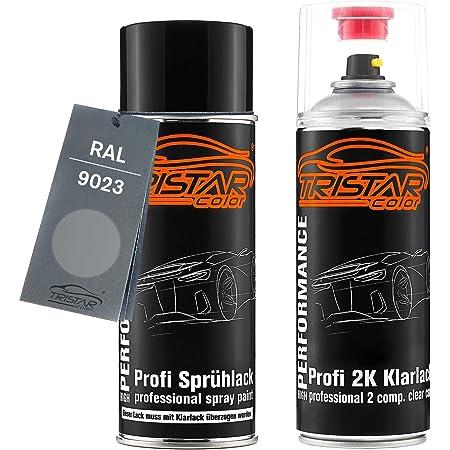 Ral 9023 Perldunkelgrau Metallic Spraydose Inkl Klarlack Seidenmatt Je 400ml Baumarkt