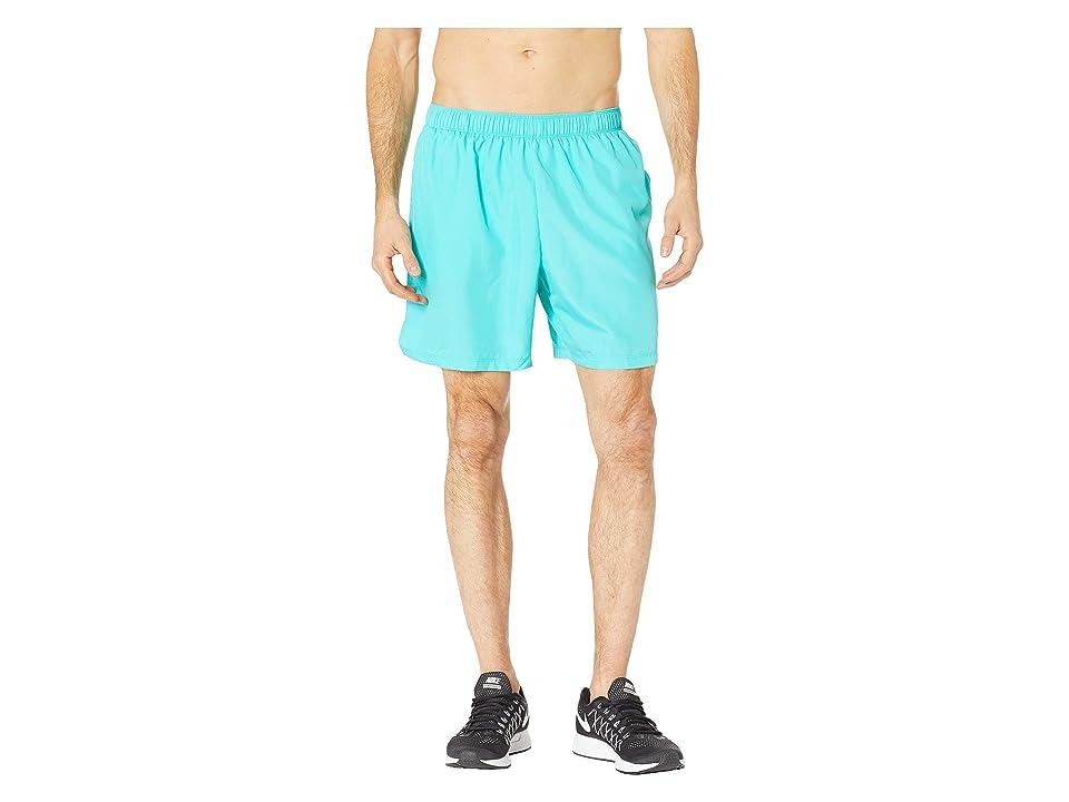 Nike Challenger 7 Dri-Fit Running Short (Hyper Jade/Hyper Jade/Hyper Jade) Men