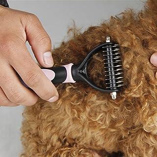 Cepillo de Limpieza para Perros y Gatos - MIRX útil cepillo para mascotas multifuncional- Para