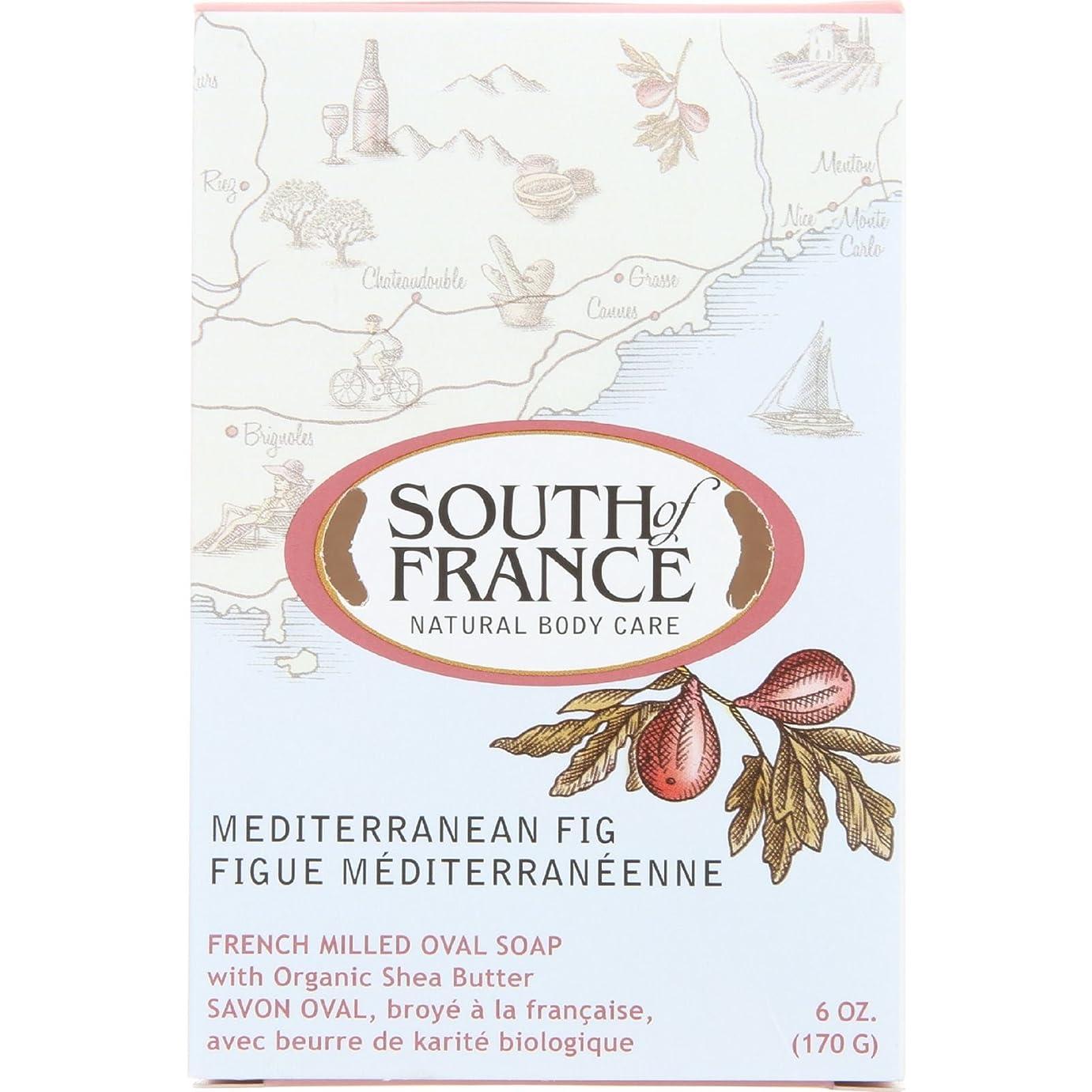 名詞大声で尾South of France - フランスの製粉された野菜棒石鹸の内陸のイチジク - 6ポンド