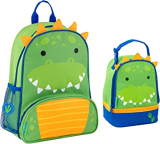 Stephen Joseph Sidekick Dinosaur Backpack and Lunch Pal