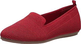 حذاء الباليه Vyki نسائي من Bandolino أحمر متوسط 610, 7