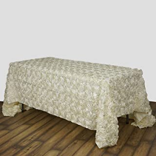 Best ivory rosette tablecloth Reviews