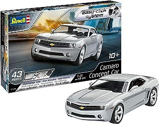 Revell 07648 Camaro Concept Car (2006), zestaw do budowy modelu samochodu 1:24, 19 cm model dla początkujących z systemem ...