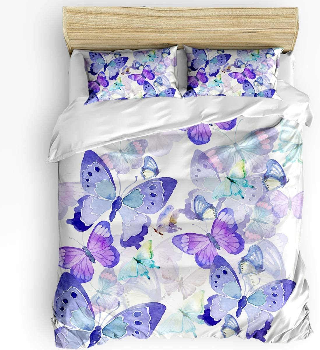 California King In a Minneapolis Mall popularity 3 Pieces Bedding Set Dazzling Colorf Cover Duvet