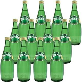 Perrier Sparkling Natural Mineral Water, 12 x 750ml