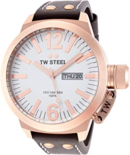 TW Steel Men's CEO Canteen Quartz Watch - Oversized Men's Watch in Both 45mm and 50mm Sizes