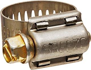 2.25-2.56 57.2mm - 65.1mm Breeze B9224-0225 Heavy Duty Spring Loaded T-Bolt Clamp Effective Diameter Range
