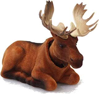 Mighty Bobblehead Moose with Auto Dashboard Adhesive (Light Brown)