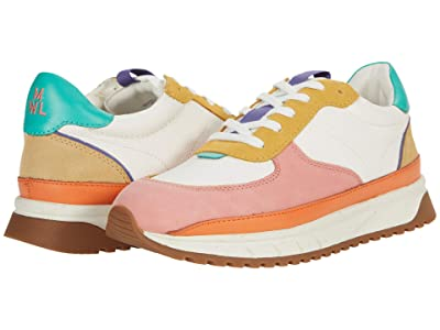 Madewell Kickoff Trainer Sneaker in Spring Color-Block (Antique Coral Multi) Women