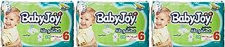 Babyjoy Compressed Diamond pad Diaper, Mega Pack Junior XXL Size 6, Count 114, 16+ KG
