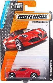 Matchbox MBX Adventure City Alfa Romeo 4C 99/120