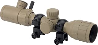 Monstrum 2-7x32 AO Rifle Scope with Illuminated Range Finder Reticle and Parallax Adjustment