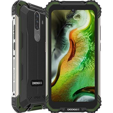 Telefono Movil Libre, DOOGEE S58 Pro Android 10 Smartphone 4G con Cámara Triples 16MP+Cámara Frontal 16MP, 6GB+64GB, Batería 5180mAh, 5.7 Pulgada IP68/IP69K Móvil Resistente, NFC/GPS, Verde