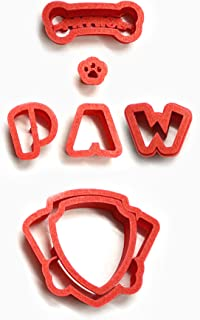 New Paw Cartoon 100 Cookie Cutter Set (4 inches)