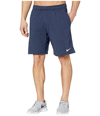 Nike Dri-FIT Training Shorts (Obsidian Heather/White) Men