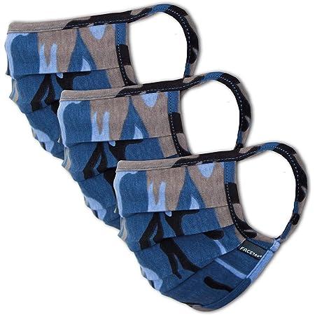 Lilyo-ltd Masque de protection unisexe Motif ethnique azt/èque lavable et r/éutilisable en tissu pour prot/éger la cagoule bandana respirant pour l/ét/é le cyclisme et la randonn/ée en plein air