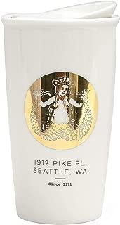 Starbucks Pike Place Double Wall Traveler Mug, Limited Edition, 12 fl oz