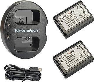 Newmowa NP-FW50 Batería de repuesto (2-Pack) y Kit de Carga
