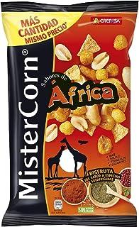 comprar comparacion Grefusa - MisterCorn Africa | Cocktail de Frutos Secos con Sabor a Especias Surafricanas - 195 gr