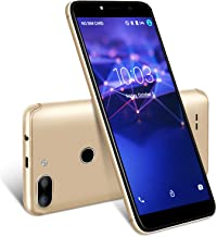 $62 » XGODY 3G Unlocked Cell Phones 5.5 inch 18:9 IPS Screen Display 5MP Dual Camera Global Band for T-Mobile/AT&T/MetroPCS 8GB Android 7.0(Gold)