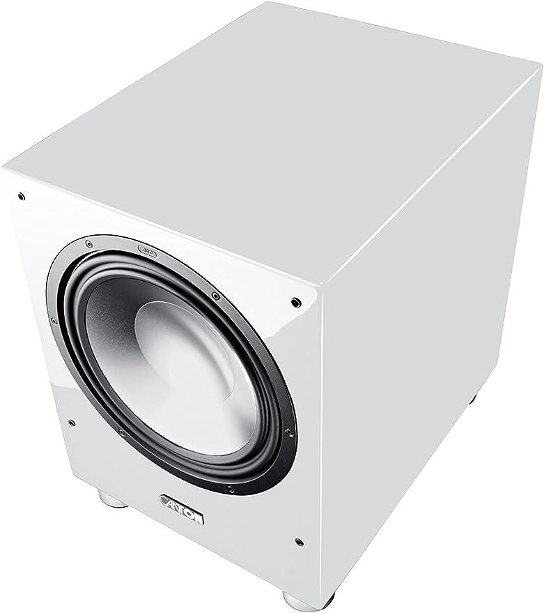 Canton Sub 1200 R Aktives Subwoofersystem 500 750 Watt 1 Er Stück Hochglanz Weiß Audio Hifi