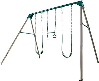 Lifetime Heavy Duty A-Frame Metal Swing Set