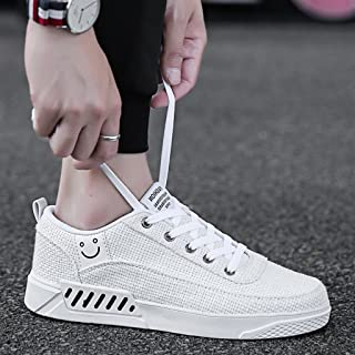 YaNanHome Chaussures Bateau Chaussures Homme Chaussures de Toile d'été Chaussures pour Hommes Style Coréen Tendance Chauss...