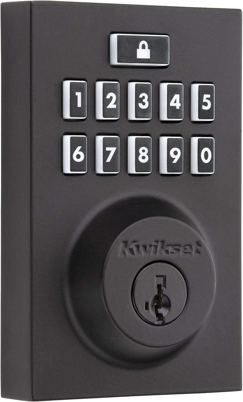 Free shipping on posting reviews Kwikset 99140-028 SmartCode 914 Modern Smart K Lock overseas Contemporary