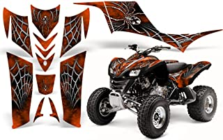 CreatorX Kawasaki Kfx 700 Graphics Kit Decals SpiderX Orange