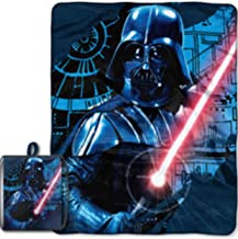 Star Wars Darth Vader 40 x 50 Micro Raschel Throw with Draw String Tote