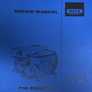 Hatz Diesel Repair Manual L/M 85250009
