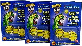 HOOK-EZE Fishing Gear Knot Tying Tool for Hooks Jigs...