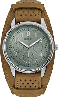 Guess Mens Quartz Watch, Analog Display and Textile Strap - W1243G1