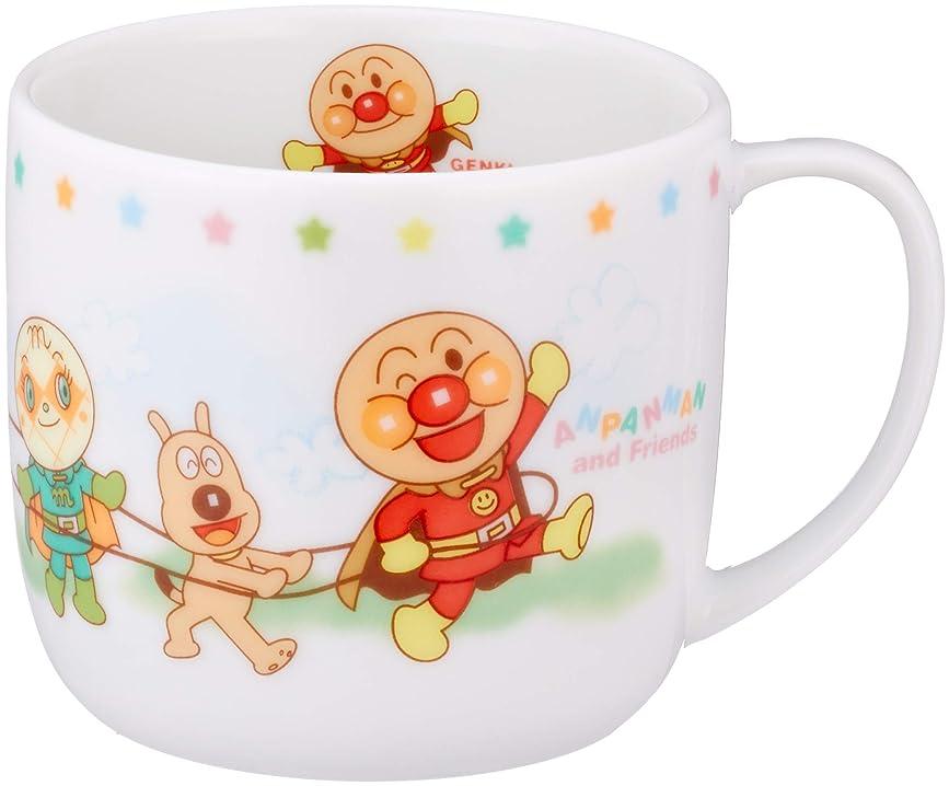 有益開始百「 それいけ!アンパンマン 」 ハッピー マグカップ 200ml 子供用 食器 白 010304