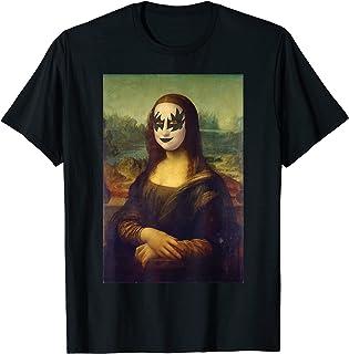 Rocker Mona Lisa - Art classique - Pop Art T-Shirt
