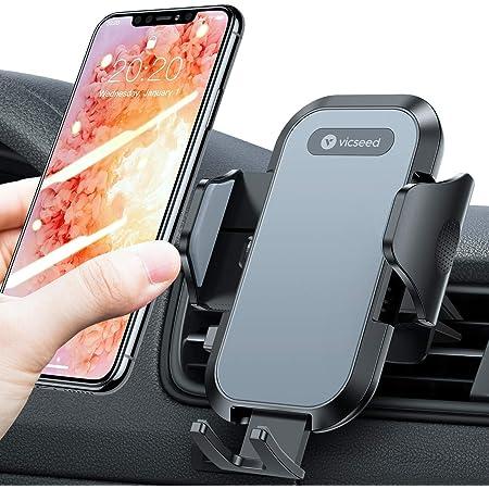 Vicseed Handyhalterung Auto Lüftung Universal 360 Grad Drehung Kfz Autohalterung Für Alle Smartphones Iphone 12 Mini