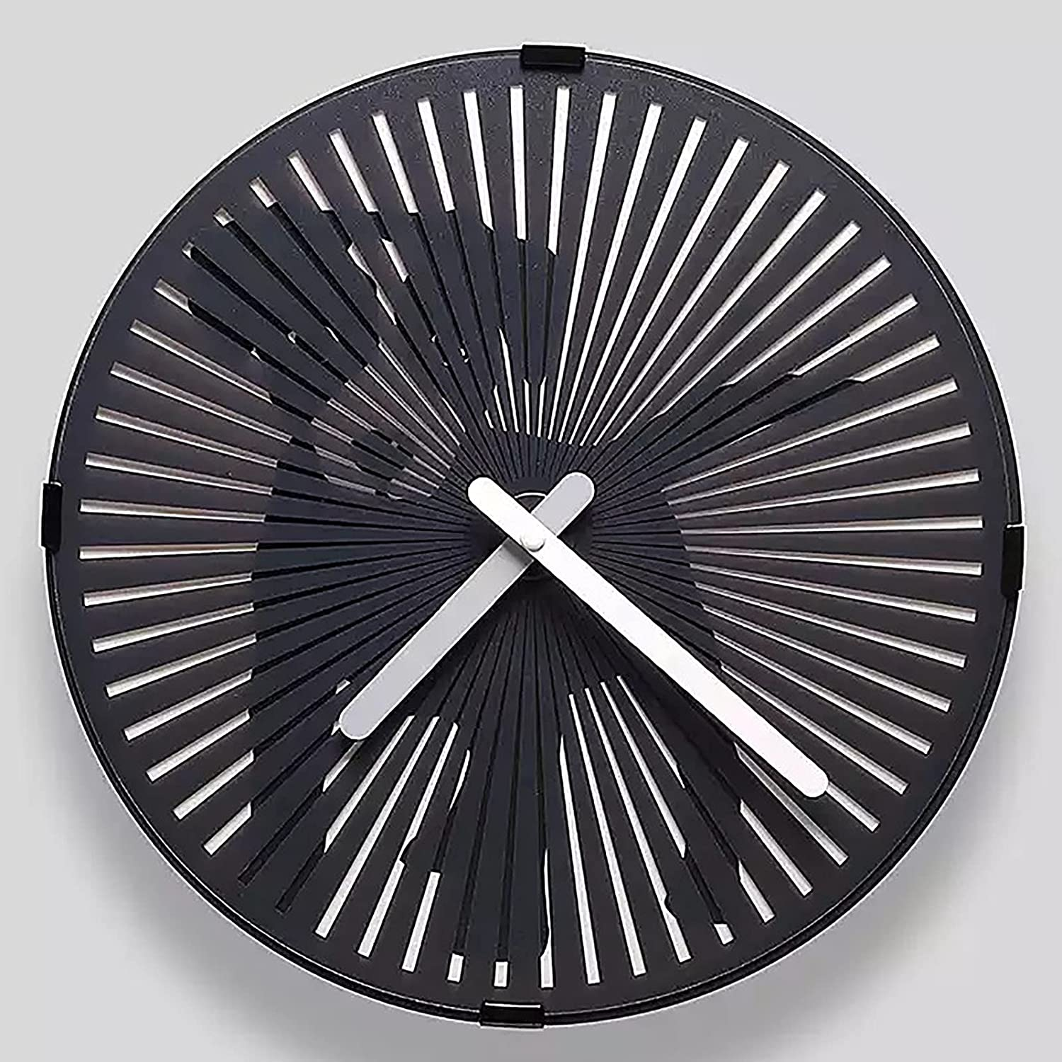 FHTD Omaha Mall Creative Dynamic Wall Clock Silent Non-Tic Battery price Operated